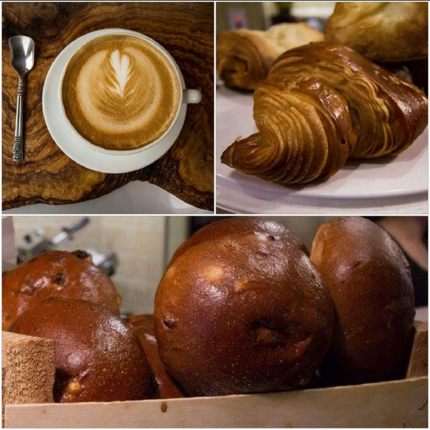 Coffee with either Croissant, Teacake or Toast deal